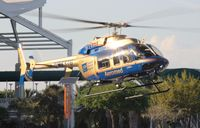 N933TG - Tampa General Hospital Bell 407 at Heliexpo Orlando