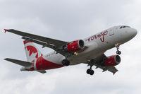 C-GARJ @ CYYZ - Short final for runway 24L at Toronto Pearson - by BlindedByTheFlash