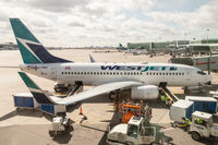 C-FWSX @ CYYZ - Parked at Terminal 3 at Toronto Pearson - by BlindedByTheFlash