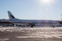 N129AC @ CYYZ - Phoenix (Arizona) Coyotes team plane parked at Toronto Pearson - by Robert Jones