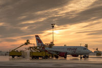 C-GBHO @ CYYZ - Deicing at Toronto Pearson - by Robert Jones