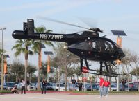 N977WF - MD520N at Heliexpo Orlando