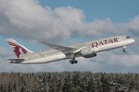 A7-BCT @ ARN - Departing runway 08 - by Anders Nilsson