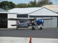ZK-BKD @ NZAR - new ex VH-PPH (still wearing under wing)  cub to NZ register at Ardmore base c/n 18-8470 - by magnaman
