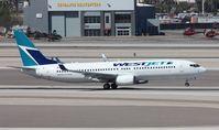 C-FUMF @ KLAS - Boeing 737-800 - by Mark Pasqualino