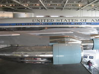 72-7000 - 1972 Boeing VC-137C AIR FORCE ONE, aka 27000, four P&W TF33-PW-102 low bypass ratio Turbofans 18,000 lbf st each, at Ronald Reagan Presidential Library and Museum - by Doug Robertson