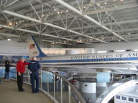 72-7000 - 1972 Boeing VC-137C AIR FORCE ONE, aka 27000, 4 P&W TF-33-PW-102 Turbofans 18,000 lbf st each. At Ronald Reagan Presidential Library and Museum. - by Doug Robertson