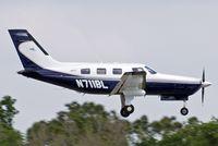 N711BL @ KLAL - Piper PA-46-350P Malibu Mirage [4636310] Lakeland-Linder~N 15/04/2010 - by Ray Barber