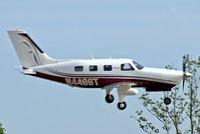 N448ST @ KLAL - Piper PA-46-350P Malibu Mirage [4636448] Lakeland-Linder~N 16/04/2010 - by Ray Barber