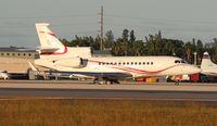 PH-AJX @ MIA - Falcon 7X