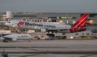 PH-MCS @ MIA - Martinair MD-11F
