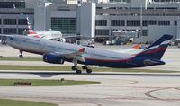 VQ-BBG @ MIA - Aeroflot A330-200