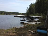 C-ICUF - On puddle jumper floats. Madawaska river - by Chad parker