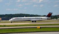 N942DL @ KATL - Takeoff roll Atlanta - by Ronald Barker