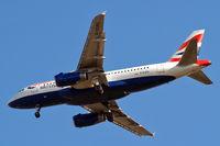 G-EUPO @ EGLL - Airbus A319-131 [1279] (British Airways) Home~G 09/05/2011. On approach 27R.