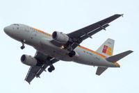 EC-KBJ @ EGLL - Airbus A319-111 [3054] (Iberia) Home~G 13/07/2012. On approach 27R.