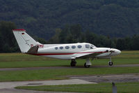 D-ICMF @ LSZL - Taxying for the concrete runway at Locarno - by sparrow9