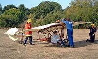 BAPC256 @ EGLB - BAPC-256   Santos Dumont XX Demoiselle (replica) [Unknown] Brooklands Museum~G 18/10/2003