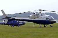 G-BOSN @ EGTB - Aerospatiale AS.355F2 Ecureuil II [5266] (Helicopter Services Ltd) Booker~G 09/06/2007