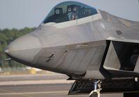 03-4043 @ NIP - F-22 at Jacksonville NAS - by Florida Metal