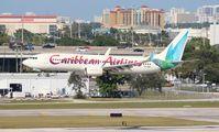 9Y-ANU @ FLL - Caribbean 737-800