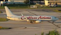 9Y-JMF @ FLL - Caribbean 737-800 - by Florida Metal