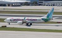 9Y-KIN @ FLL - Caribbean 737-800