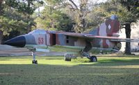 20 24 - Mig 23 located in a yard in the Panhandle of Florida