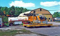 LN-OMG @ ENJB - Sud Aviation SA.315B Lama [2443] (Helifly) Jarlsberg~LN 03/06/2000