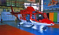 HB-XWD @ LSGL - Agusta A-109K2 [10004] (Swiss Air Ambulance) Lausanne~HB 11/08/1997