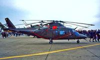 H-15 @ EGUN - Agusta A-109BA [3015] (Belgian Army) RAF Mildenhall~G 26/05/1996