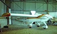 F-PYIS @ LFCL - Pottier P.70S [32] Toulouse-Lasbordes~F 21/09/1982. From a slide.
