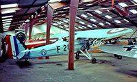 F-AZAA @ LFFQ - Morane-Saulnier MS.130 Et2 [67/02] La Ferte Alais~F 16/07/1982. From a slide.
