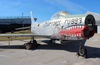 51-2993 - Hurricane Ivan damaged F-86 at Battleship Alabama museum - by Florida Metal