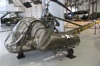51-3975 - UH-23 Raven at Army Aviation Museum - by Florida Metal
