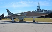 54-0102 - F-105 at Battleship Alabama - by Florida Metal