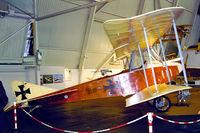 D-EKGH @ EDNY - Albatros Flugzeugwerke B.II replica [01] Friedrichshafen~D 26/04/2001 - by Ray Barber