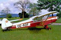 OE-ADF @ LOXN - Piper PA-18-150 Super Cub [18-7510] Wiener Neustadt-West~OE 15/05/1999