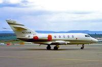 N520AW @ EDDS - Dassault Falcon 20F [453] Stuttgart~D 27/04/2001