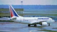 N100UN @ EDDF - Boeing 737-7K9 [28088] (Transaero) Frankfurt~D 08/10/1999 - by Ray Barber