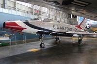 55-3754 @ FFO - Thunderbirds F-100 - by Florida Metal