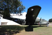 57-3080 - YC-7 Caribou at Army Aviation Museum - by Florida Metal