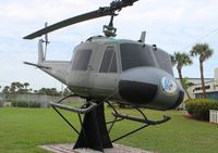 62-1876 - UH-1B at Navy Seal Museum Ft. Pierce FL - by Florida Metal