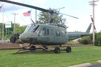 65-9696 - UH-1H in Vandalia OH - by Florida Metal