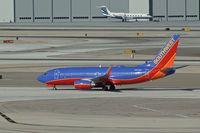 N257WN @ KLAS - Southwest Airlines, seen here on the taxiway at Las Vegas Int'l(KLAS) - by A. Gendorf