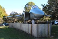 77-0146 - F-15A Eagle in a park in Calloway FL - by Florida Metal