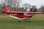 G-CGTV @ EGBR - at the Easter Homebuilt Aircraft Fly-in - by Chris Hall