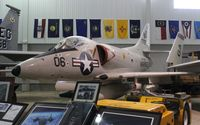147787 - A-4 Skyhawk at Battleship Alabama - by Florida Metal