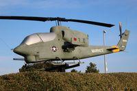 159226 - AH-1 Sea Cobra at Memorial wall in Pensacola FL