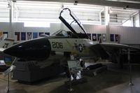 161611 - F-14 Tomcat at Battleship Alabama - by Florida Metal